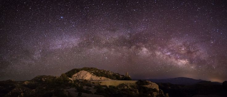 Milky Way Arch Pano at Windy Point  Landscapes June 6 2017 at 11:13PM #photography