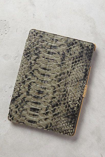 Serpentes Embossed iPad Air Case by Liebeskind #anthoregistry