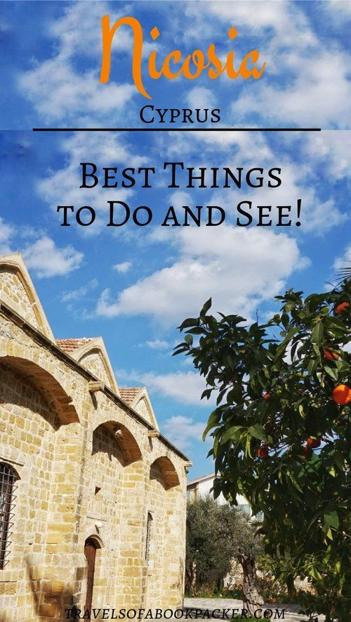 Nicosia is divided into two parts with different languages, currencies and time zones. So get your passport ready and explore these things to do in North and South Nicosia! #nicosia #cyprus #dividedcapital