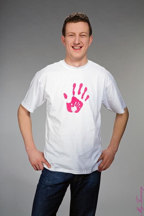 Koszulka dla Taty Ręka mamy