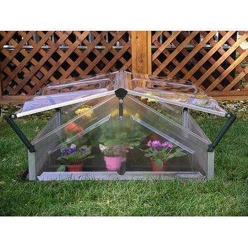 Poly-Tex Double Polycarbonate Cold Frame Greenhouse