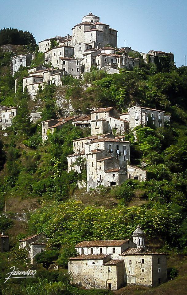 Laino Castello, Calabria.