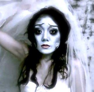 Corpse Bride Halloween Makeup Tutorial