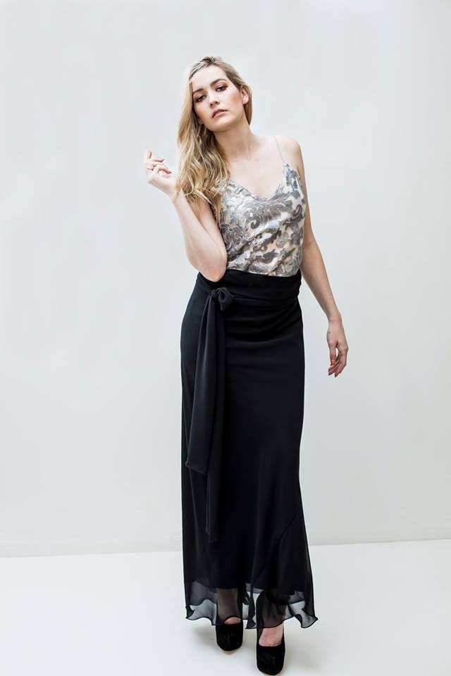 Leiela Cecilia Dress Silver