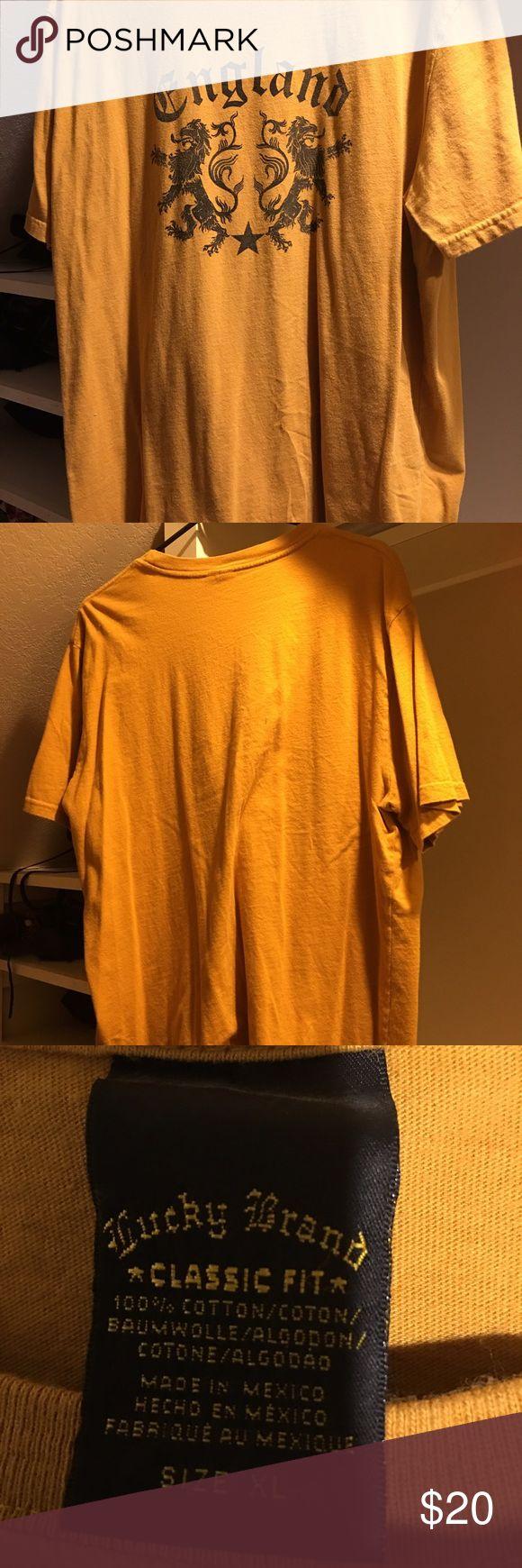 Lucky Brand England Shirt Lucky Brand England Shirt Lucky Brand Shirts Tees - Short Sleeve
