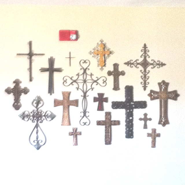 1000 ideas about cross wall collage on pinterest wall for Cross wall decor ideas