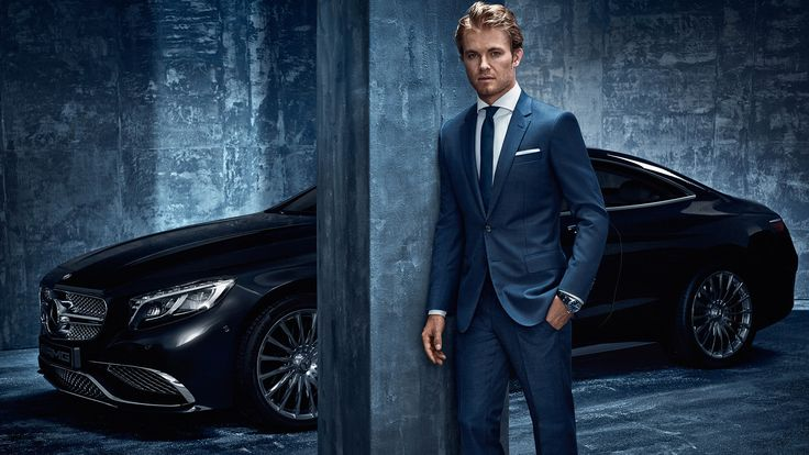 Nico Rosberg - Hugo Boss for Mercedes Benz by Hunter and Gatti
