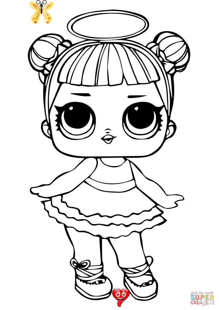 Lol Coloring Pages Lol Surprise Doll Rocker Coloring Page Free Printable Coloring Pages Albanysinsanity Com Br Lo En 2020 Coloriage Poupees Lol Coloriage Princesse