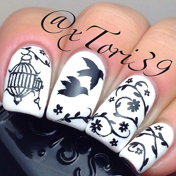 Instagram photo by xtori39 #nail #nails #nailart