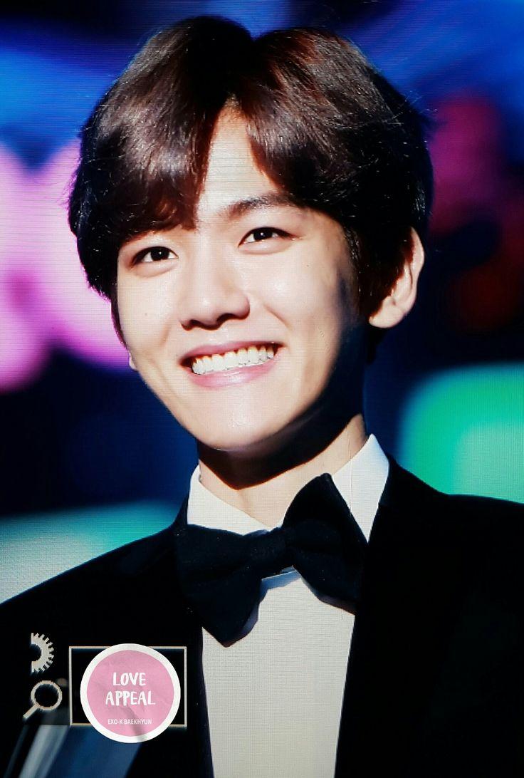 #Exo #BaekHyun #cute #kpop #korea