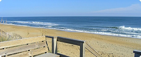 Outer Banks, NC. We first went four years ago with another family. This year we go back for more. I'm so glad our friendships are still going strong! The beach is so quiet and relaxing. The kids love it too!