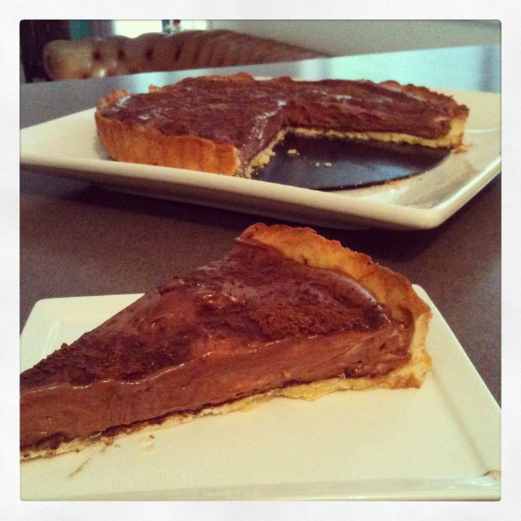 Theres Nothing like a home made Chocolate Mousse Tart! OMG! HELP!
