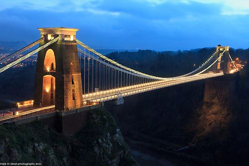 Clifton Suspension bridge, Somerset by Infinity99 on Flickr.