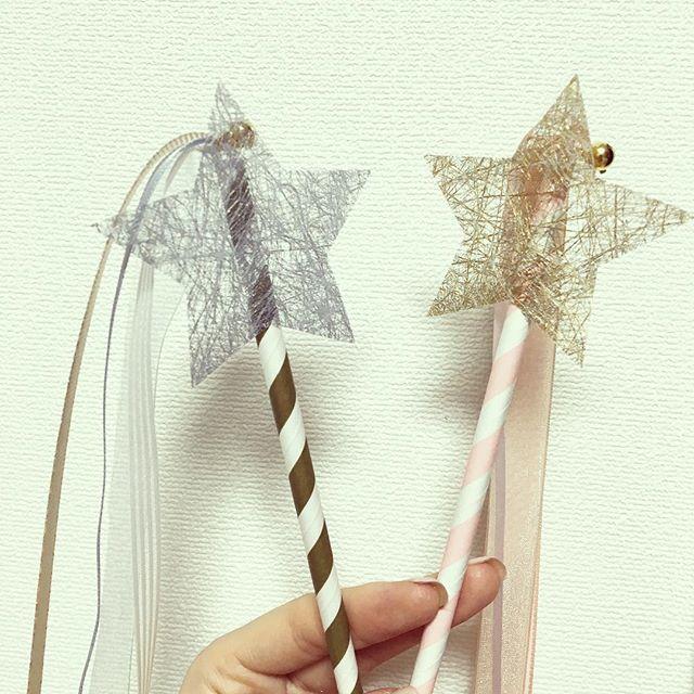 子供用のリボンワンズには@kokoni_0601 さんで購入したスターを★☆ フリフリしてくれたら嬉しいな〜😙💕 #プレ花嫁 #お気に入り #スター #リボンワンズ #キッズ用 #色んなところにつかいたくなってしまう #星
