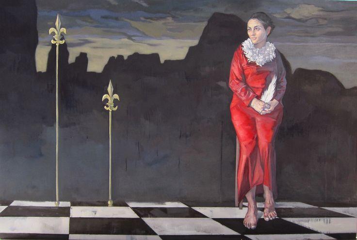 Iwanna Kafida - El greco | Ena art Gallery | Athens #art #exhibition #el_greco #athens #gallery #kolonaki # greece