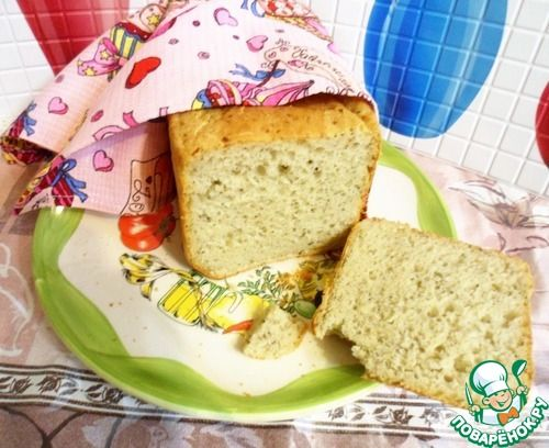 Сырно-чесночный хлеб с травами - кулинарный рецепт