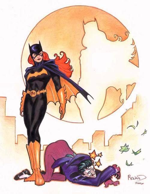 Batgirl by French comic artist Paul Renaud.
