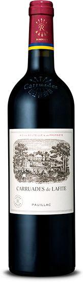 Carruades de Lafite Pauillac vin de Château Lafite Rothschild, Carruades de Lafite présente des caractéristiques proches du Grand Vin