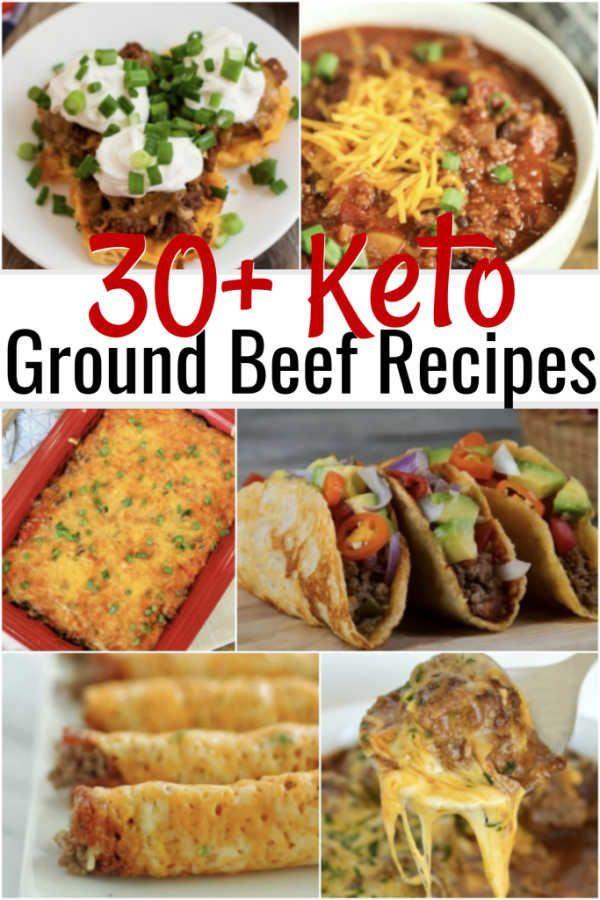 Easy Keto Ground Beef Recipes Delicious Keto Ground Beef Recipes Beef Recipes Ground Beef Recipes Recipes