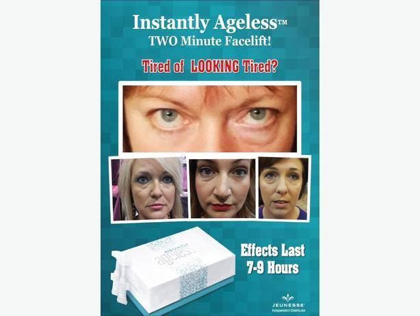 Are you tired of looking tired! Instantly Ageless to the rescue! http://bit.ly/1NNAEeR