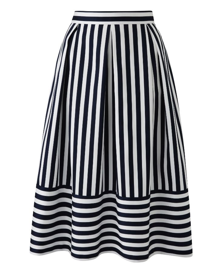"""Closet"" Closet Striped Prom Skirt at Simply Be"