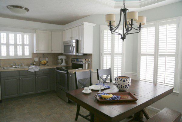 Painting Melamine Kitchen Cabinets - The Decorologist