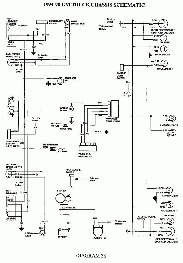 60 New Chevy Express Tail Light Wiring Diagram in 2020 | Chevy silverado,  2004 chevy silverado, Trailer light wiringPinterest