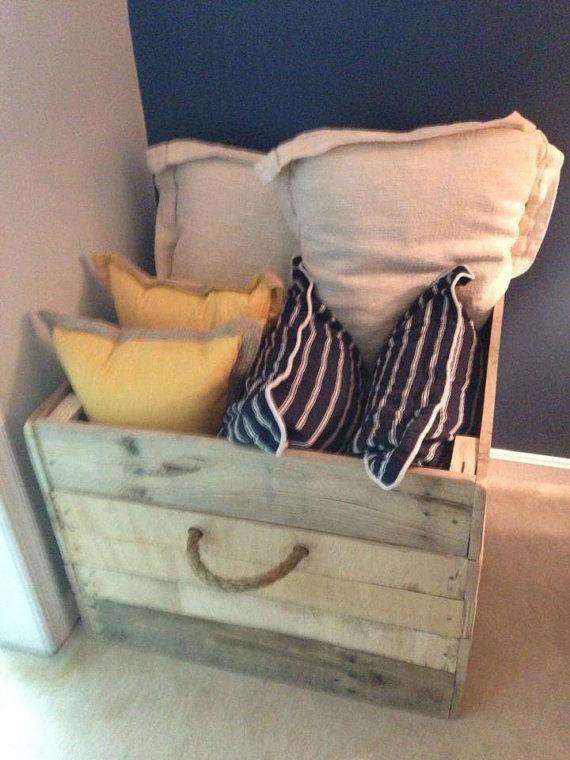 Custom Pallet Box  Multipurpose by TheFarmTableShop on Etsy, $74.99