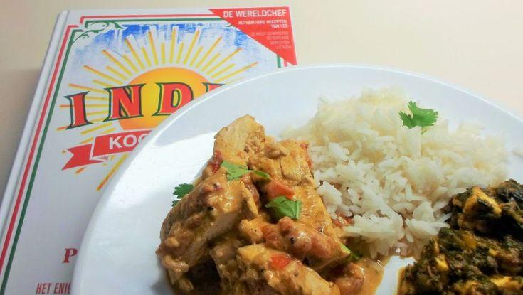 Kip tikka masala, zo lekker is 'India'. Kip tikka masala (Murg tikka masala) naar een recept van een beroemde chef; uit India- kookboek van Pushpesh Pant