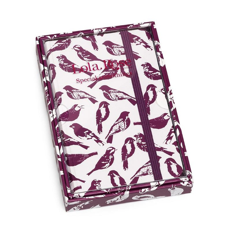 Great gift idea - Lola Rose Gift Boxed Print Notebook