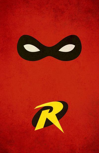 Best 25 robin superhero ideas on pinterest batman for Minimal art hero
