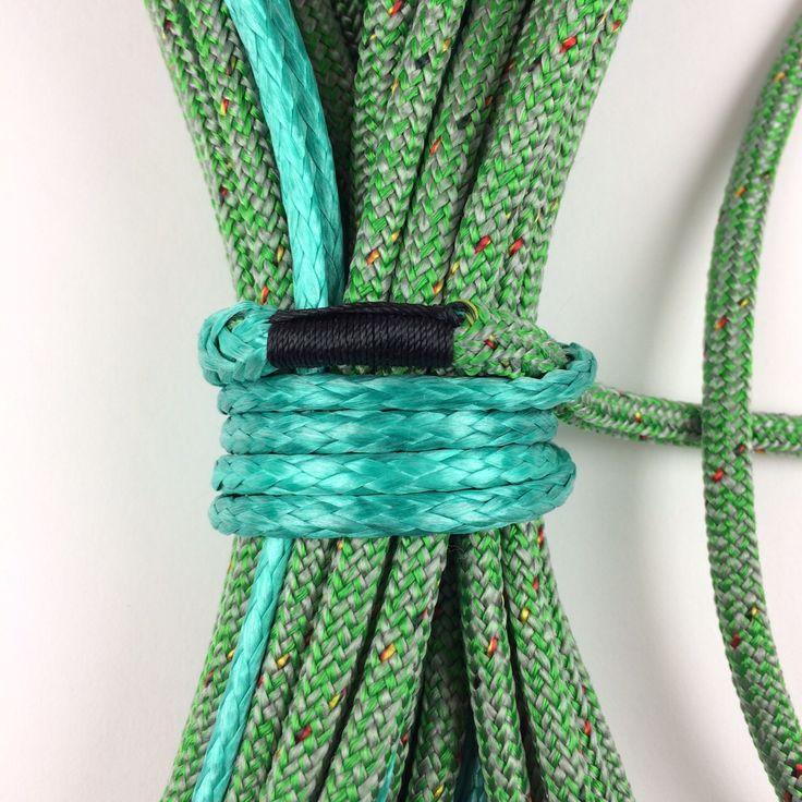 #tapered #halyard #ropes #ropesplicing #splicing #eyesplice #ropework #rigging #dyneema #ropes #ropeonline #sailing #vela #segeln #matelotage