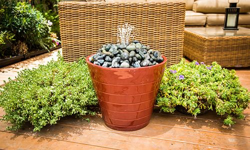 Home & Family - Tips & Products - Mark's DIY Outdoor Patio Fountain | Hallmark Channel