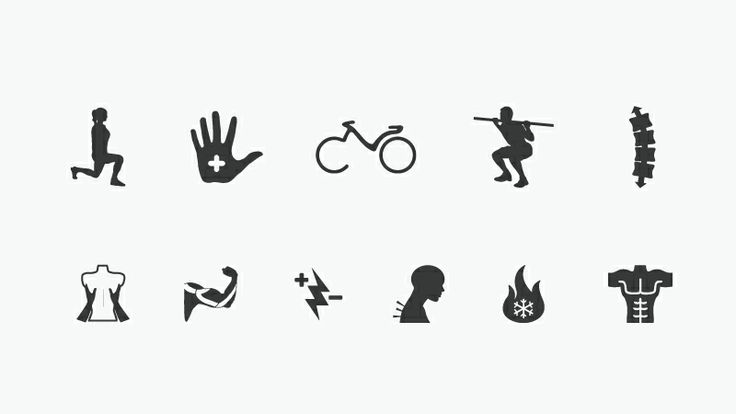 PhysioRoom Vancouver Iconography Design.