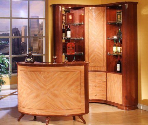 Luxury Wooden Mini Bar · Home Bar DesignsDesign ...
