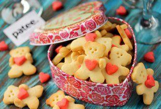 Песочное печенье Мишки-мимишки - Шаг 15