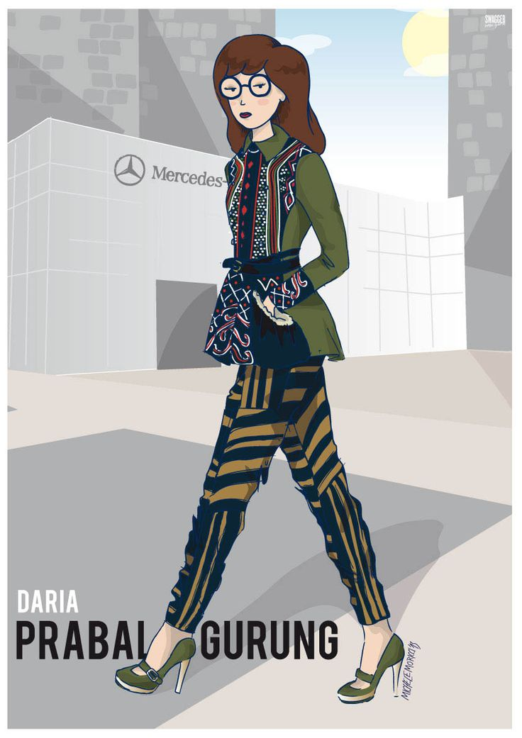 I'm pretty sure Daria, Sailor Moon, Beavis & Butthead would be fashion bloggers in 2013.  via PSFK via SwaggerNewYork