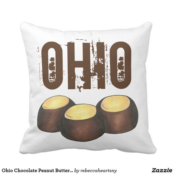 Ohio Chocolate Peanut Butter Buckeye Nut Candy OH