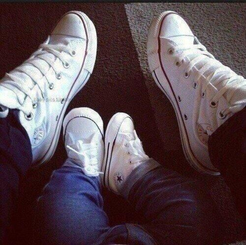 JD had these!  Baby Converse