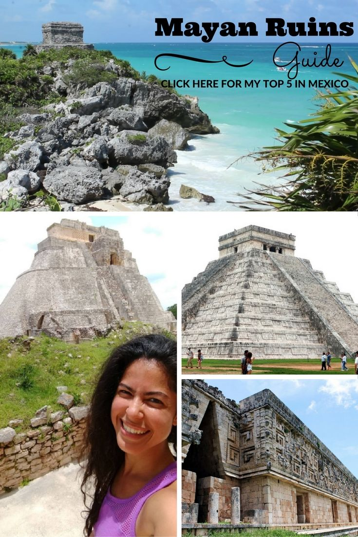 Wondering which are the best Mayan ruins to visit from #PlayaDelCarmen, #Cancun…