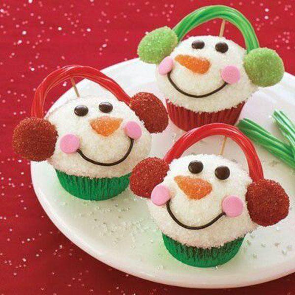 festliche tischdeko weihnachten  lachen besten Weihnachtsplätzchen schneemann