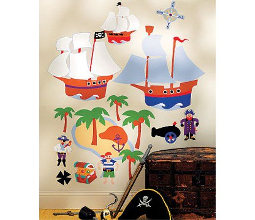 17 Best Ideas About Pirate Themed Bedrooms On Pinterest