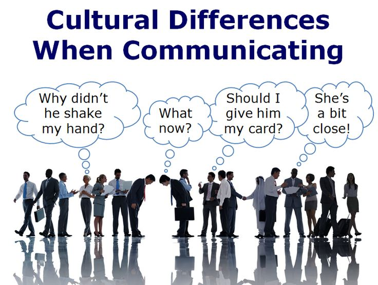 analyzing and understanding cultural differences Cultural differences often lead to amusing misunderstandings, and can also have a serious impact on people's career to avoid cultural conflicts, one should get coping cultural difference requires appropriate approaches most importantly, acceptance and mutual understanding are the prerequisite.