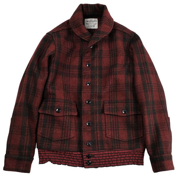 "BUZZ RICKSON'S ""JACKET, WOOL, RED PLAID"""
