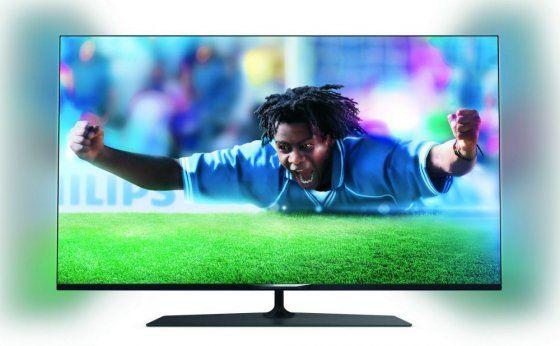 Philips 42PUS7809/12 Ultra Slim, Smart, 4K Ultra HD LED TV 2oldalas Ambilight, Pixel Precise UltraHD, 4db passzív 3D szemüveggel
