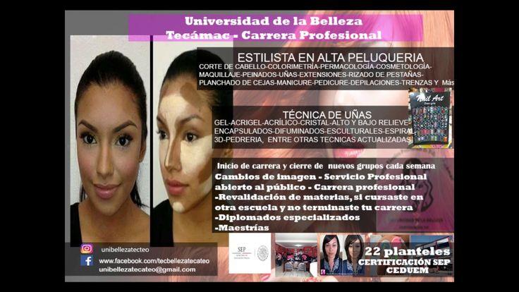 Academia de belleza en Tecámac https://www.facebook.com/tecbellezatecateo Cel y WhatsApp: 5575430104 unibellezatecateo@gmail.com https://www.webselitemx.com/...