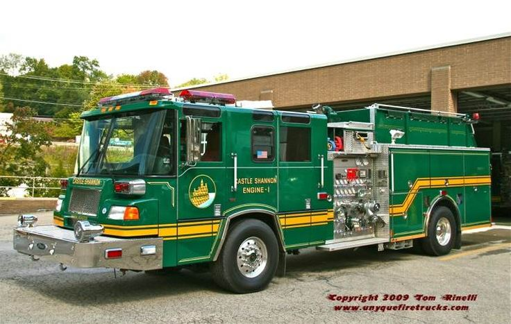 Im sure this is from somewhere in Penn!!!! Only state with all sorts of fire engine colors.