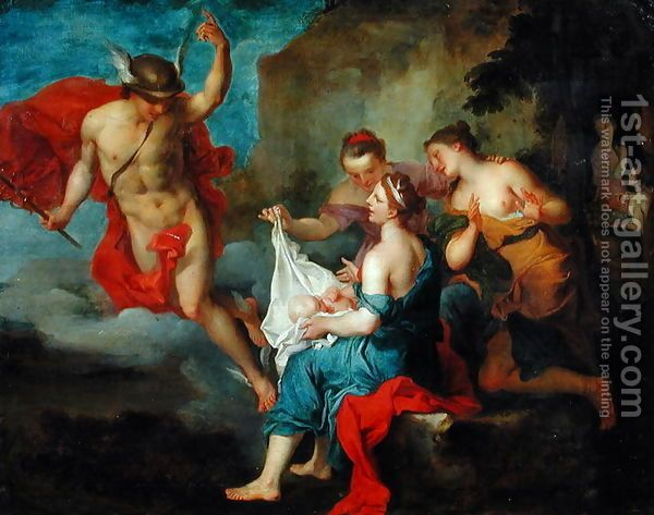Bacchus Delivered to the Nymphs of Nysa