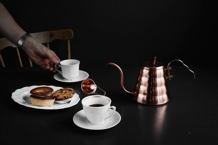 Vattenkanna Buono V60 Drip Kettle i Koppar #hario #buono #dripcoffee
