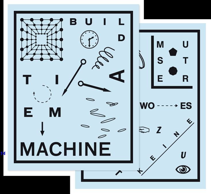 Build A Time MachineStreet Prints, Picture-Black Posters, Graphics Tees, Prints Design, Graphics Design, Graphic Design, Design Direction, Sebastian Pataky, Simon Sayings